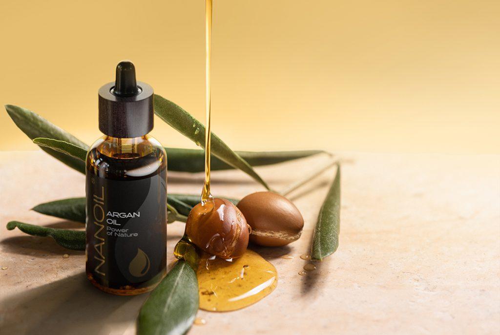 pure argan hair oil